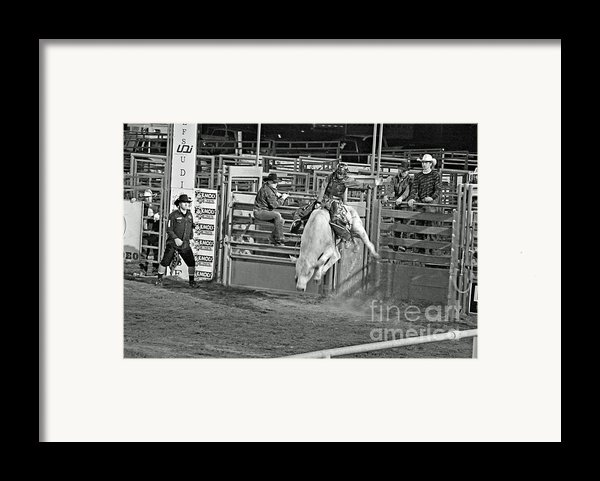 Going For 8 Framed Print By Shawn Naranjo