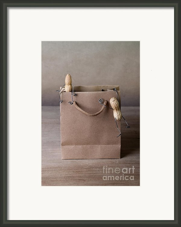 Going Shopping 02 Framed Print By Nailia Schwarz