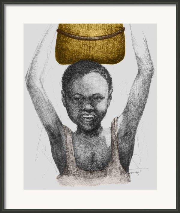Gold Treasure Framed Print By  Albert Fennell