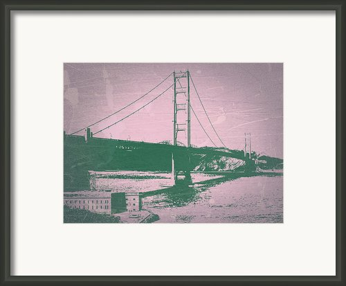 Golden Gate Bridge Framed Print By Irina  March