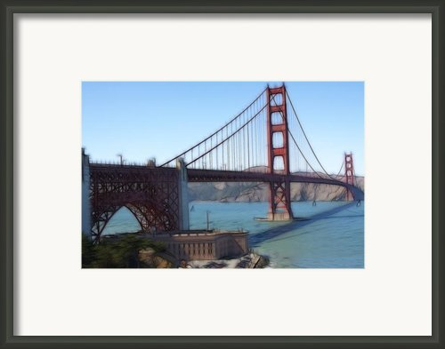 Golden Gate Bridge Framed Print By Ted Petrovits