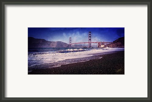 Golden Gate Framed Print By Everet Regal