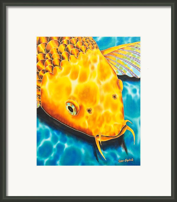 Golden Koi Framed Print By Daniel Jean-baptiste