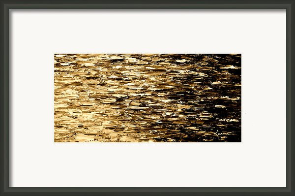 Golden Reflections Framed Print By Kume Bryant