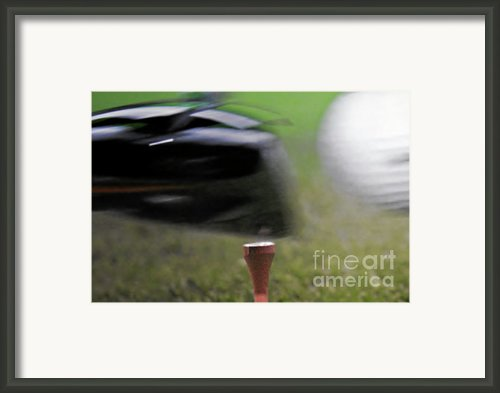 Golf Sport Or Game Framed Print By Christine Till