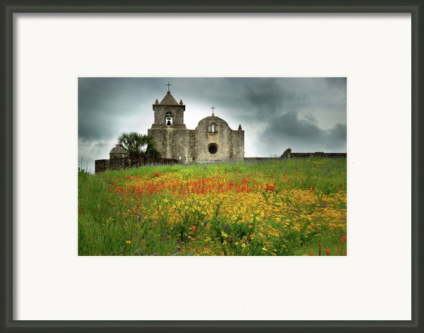 Goliad In Spring Framed Print By Jon Holiday