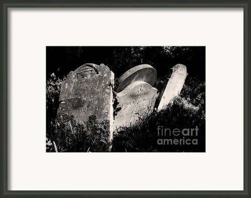 Gone But Not Forgotten Framed Print By Darren Burroughs