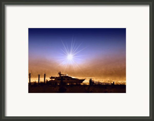 Gone Fishin Framed Print By Bill Cannon