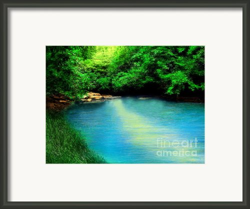 Gone Fishing Framed Print By Lj Lambert