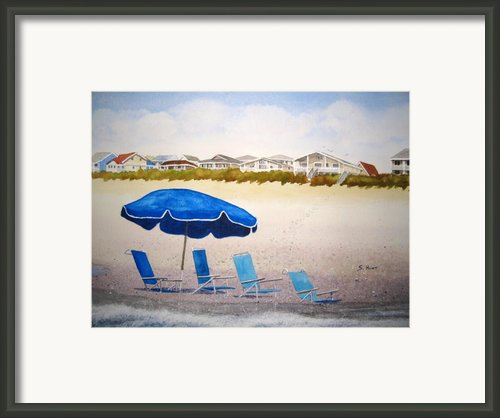 Gone To Lunch Framed Print By Shirley Braithwaite Hunt