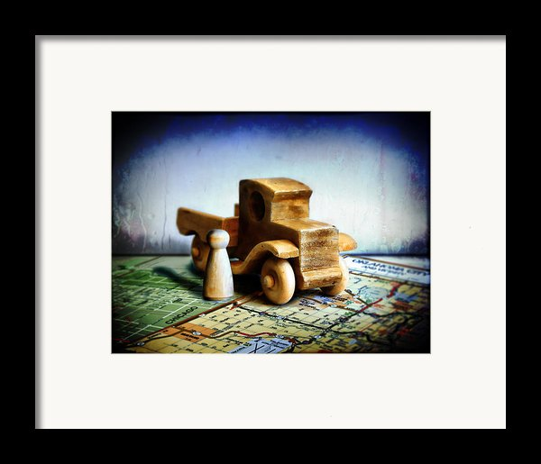 Gone Truckin Framed Print By Adam Vance