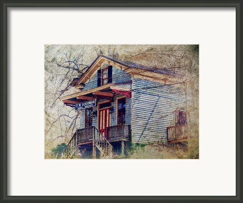 Goodman General Merchandise Framed Print By Kathy Jennings
