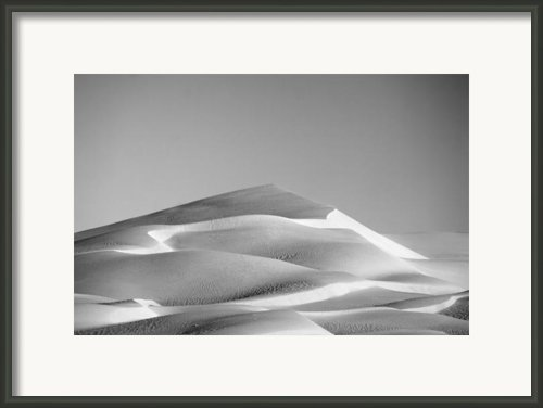 Gordon Wells Dunes Framed Print By Peter Tellone