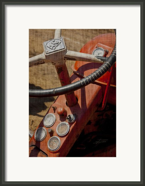 Got Some Life In Er Yet Framed Print By Barbara  White