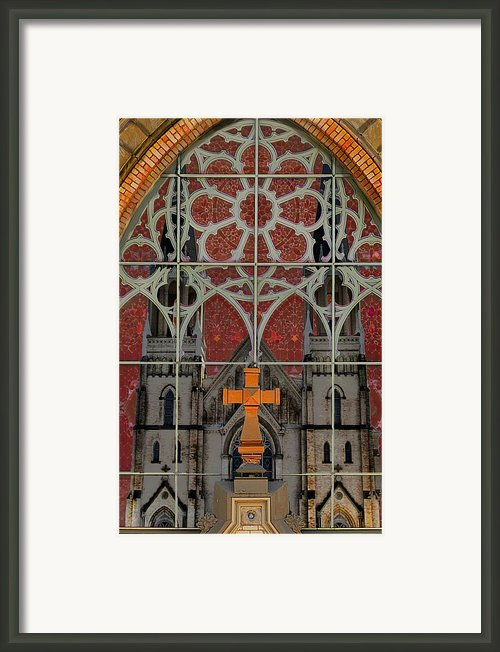 Gothic Church 2 Framed Print By Scott Hovind