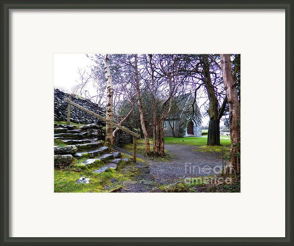 Gougane Barra Church Cork Ireland Framed Print By Pat  J Falvey