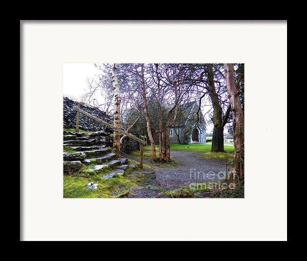 Gougane Barra Church Cork Ireland Framed Print By Pat  J Falvey