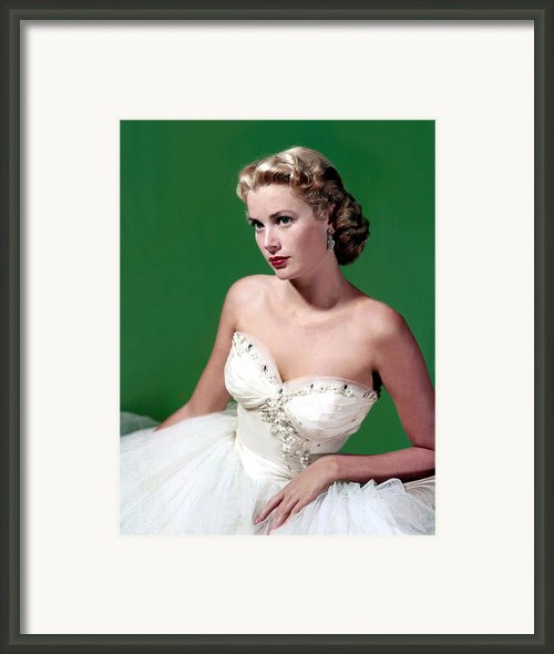 Grace Kelly, C. Mid-1950s Framed Print By Everett
