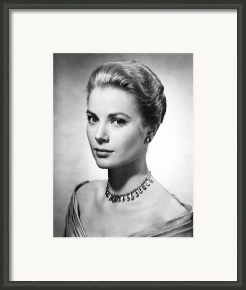 Grace Kelly, Ca. 1950s Framed Print By Everett