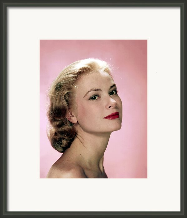 Grace Kelly Framed Print By Everett