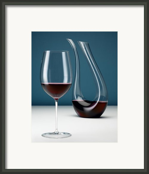 Graceful Merlot Framed Print By Michael Kraus