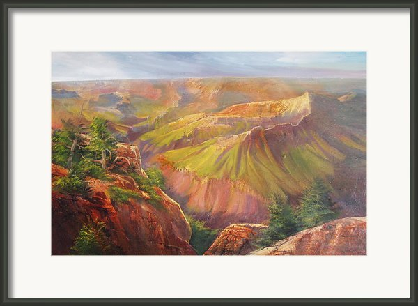 Grand Canyon Framed Print By Robert Carver