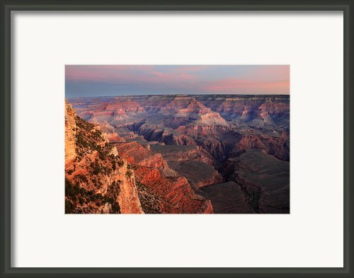 Grand Canyon Sunrise Framed Print By Pierre Leclerc