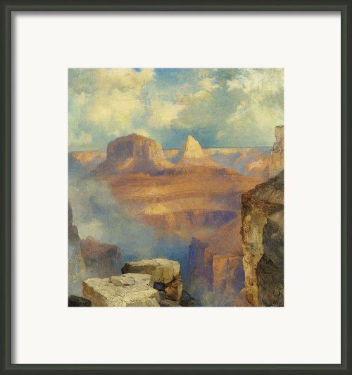 Grand Canyon Framed Print By Thomas Moran