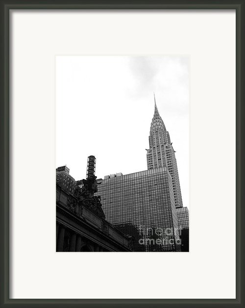 Grand Central-grand Hyatt-chrysler Framed Print By David Bearden