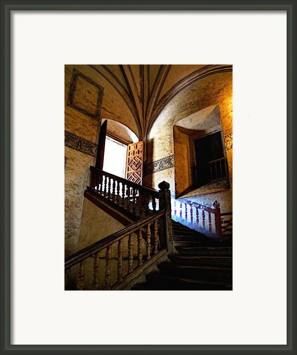 Grand Staircase 2 Framed Print By Olden Mexico