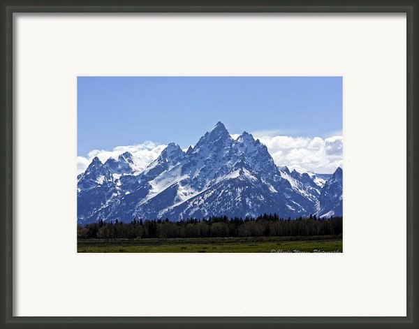 Grand Tetons 2 Framed Print By Charles Warren