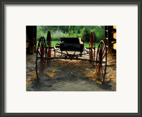 Grandfathers Buggy Framed Print By David Lee Thompson