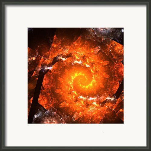 Gravitation Zero Framed Print By Stefan Kuhn