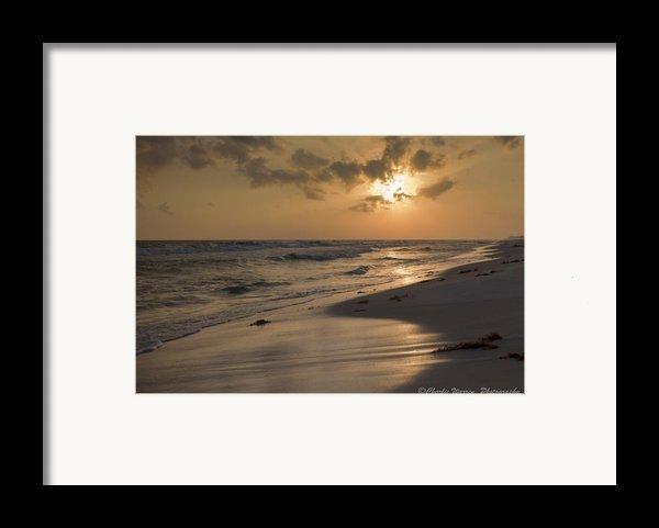 Grayton Beach Sunset Framed Print By Charles Warren