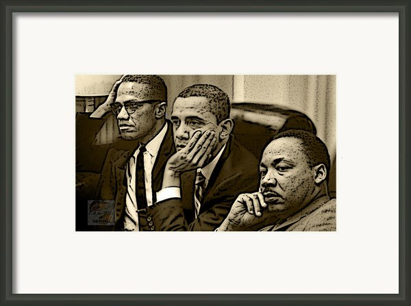 Great Minds Framed Print By Tredarion Hampton
