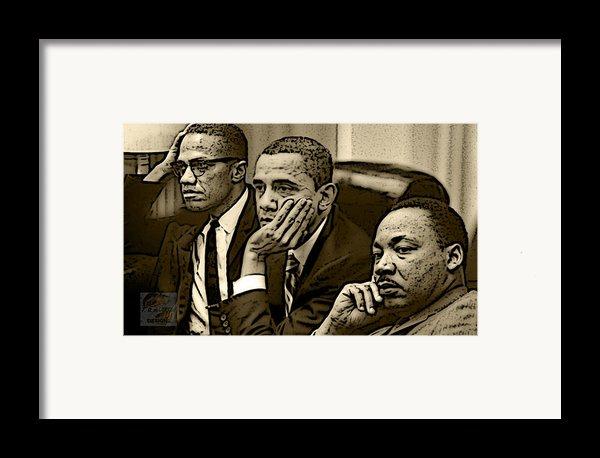 Great Minds Framed Print By Tredarion Hampton
