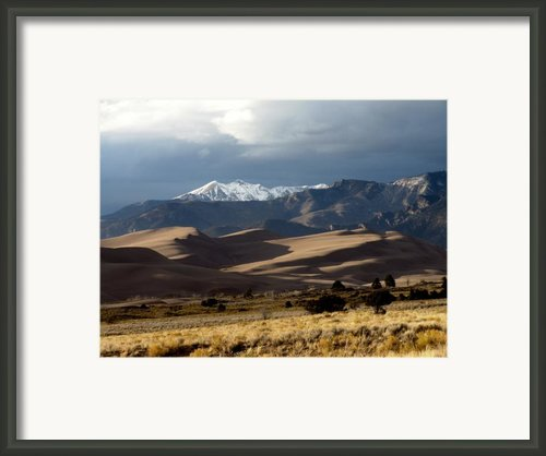 Great Sand Dunes National Park Framed Print By Carol Milisen