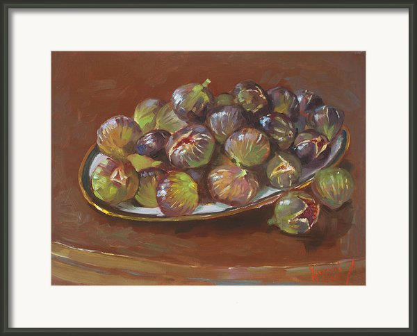Greek Figs Framed Print By Ylli Haruni