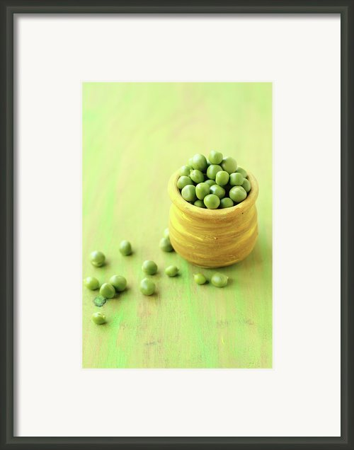 Green Peas Framed Print By Harini Prakash