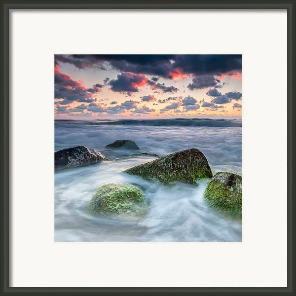 Green Stones Framed Print By Evgeni Dinev