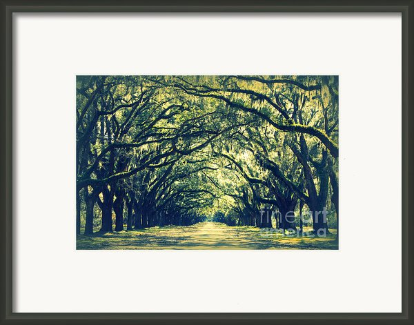 Green World Framed Print By Carol Groenen