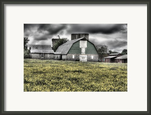 Grey Scale Framed Print By Jc Findley