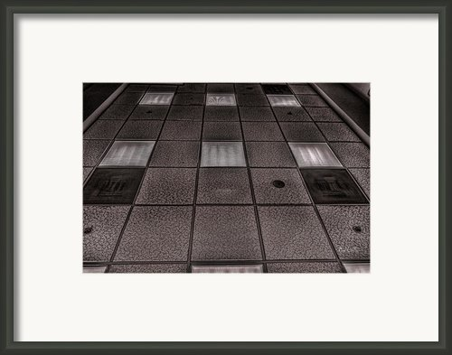 Grid Framed Print By Bob Orsillo