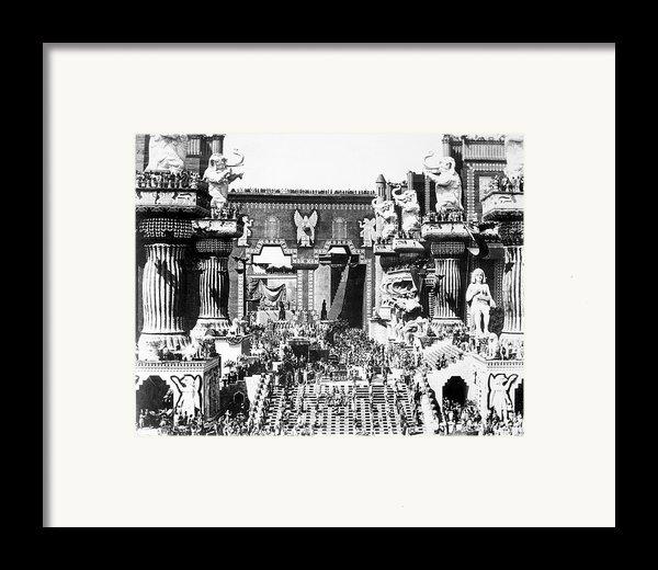 Griffith: Intolerance 1916 Framed Print By Granger