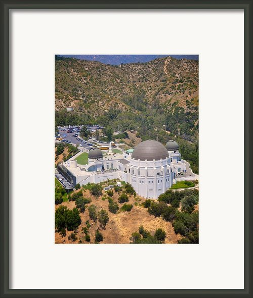 Griffith Observatory Framed Print By Matt Macmillan