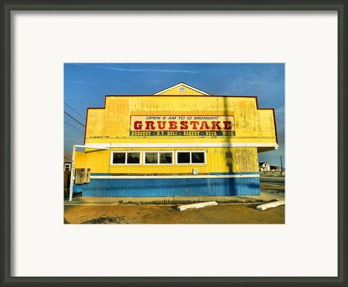 Grubstake Framed Print By Steven Ainsworth