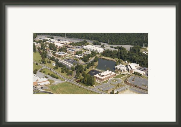 Gtcc Guilford Tech. Framed Print By Robert Ponzoni