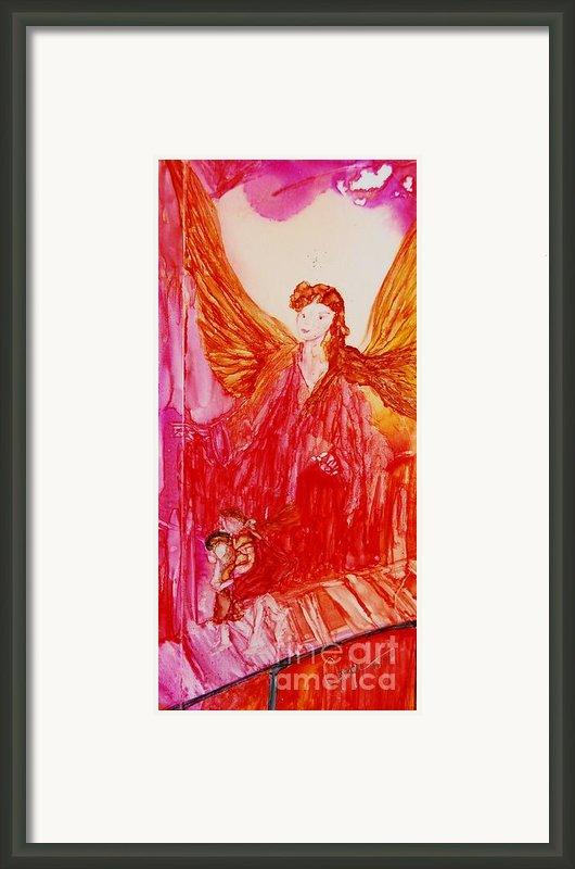 Guardian Angel Framed Print By Joyce Auteri