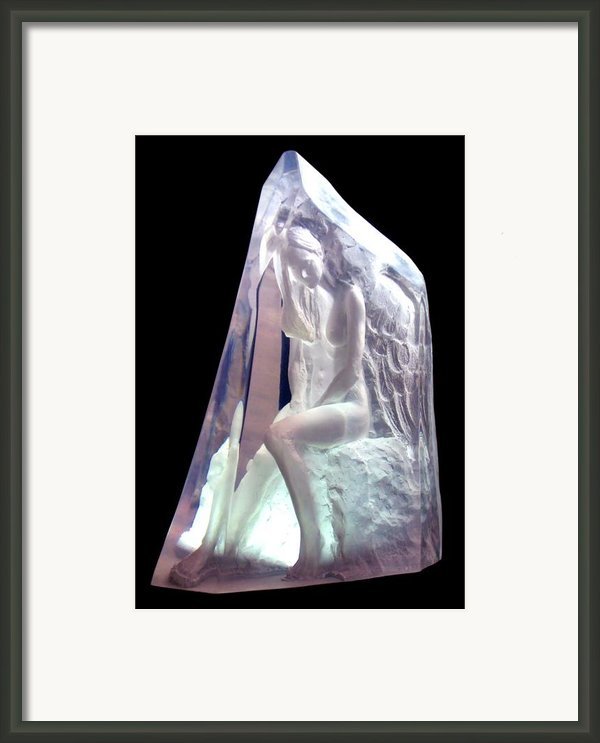 Guardian Angel Framed Print By Leonardo Pereznieto