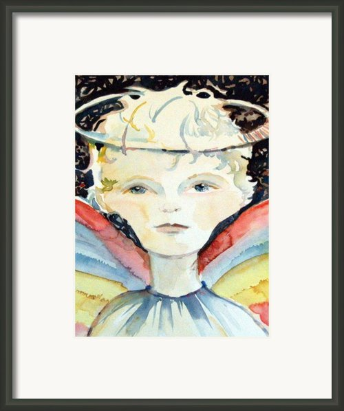 Guardian Angel Framed Print By Mindy Newman